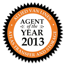 2013 Allied Agent of the Year