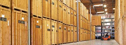 Residential and commercial storage facilities.